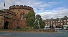 Carlisle, The Citadel and The Crescent, Cumberland © Chris Morgan